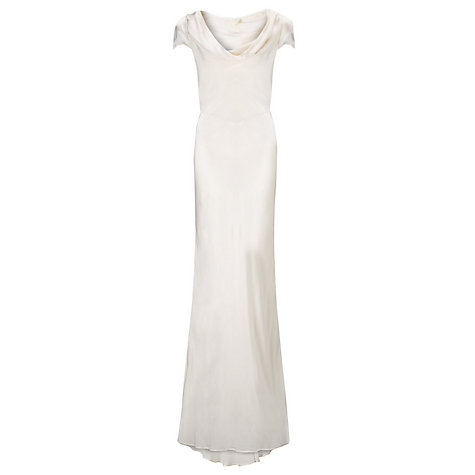 Buy Ghost Sylvia Dress, Ivory Online at johnlewis.com