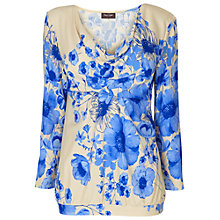 Buy Phase Eight Connie Top, Cornflower Blue Online at johnlewis.com