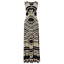 Buy Phase Eight Zeena Maxi Dress, Black/Stone Online at johnlewis.com