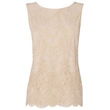 Buy Phase Eight Roxy Embellished Top, Shell Online at johnlewis.com