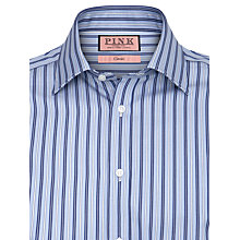 Buy Thomas Pink XL Sleeves Slim Fit Elley Stripe Shirt Online at johnlewis.com