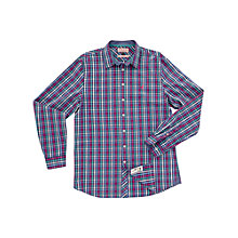 Buy Thomas Pink Airthrey Check Shirt, Pink/Blue Online at johnlewis.com