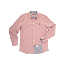 Buy Thomas Pink Teviot Stripe Shirt, Red/White Online at johnlewis.com