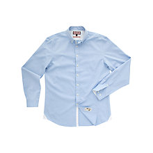Buy Thomas Pink Donop Long Sleeve Shirt, Blue Online at johnlewis.com