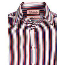 Buy Thomas Pink Pendock Stripe Shirt, White/Red/Blue Online at johnlewis.com