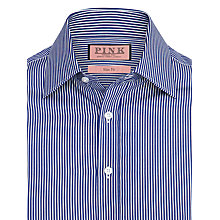 Buy Thomas Pink Evered Stripe Shirt, Blue Online at johnlewis.com
