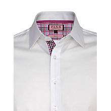 Buy Thomas Pink Dummond Plain Shirt, White Online at johnlewis.com