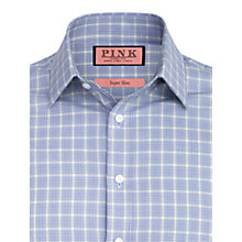 Buy Thomas Pink Super Slim Fowler Check Shirt Online at johnlewis.com