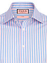 Buy Thomas Pink XL Sleeves Barret Stripe Shirt, Blue/Pink, 15 Online at johnlewis.com