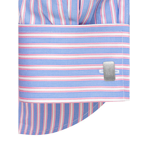 Buy Thomas Pink Barret Stripe Long Sleeve Shirt Online at johnlewis.com
