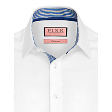 Buy Thomas Pink Altham Plain Long Sleeve Shirt Online at johnlewis.com