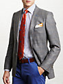 Buy Thomas Pink Allfrey Jacket, Grey, 34R Online at johnlewis.com