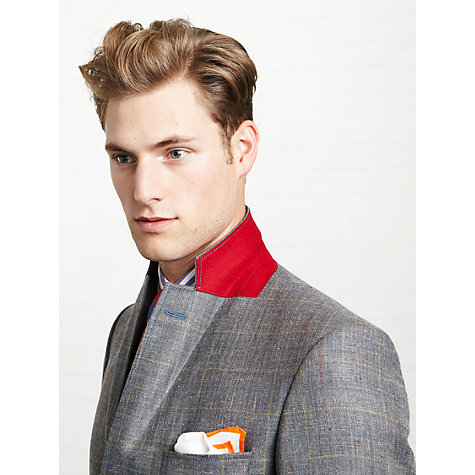 Buy Thomas Pink Allfrey Jacket, Grey Online at johnlewis.com