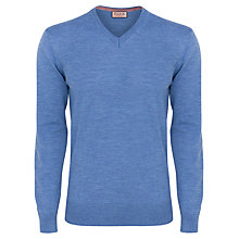 Buy Thomas Pink Durand Plain V-Neck Jumper Online at johnlewis.com