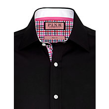 Buy Thomas Pink Granby Plain Long Sleeve Shirt Online at johnlewis.com