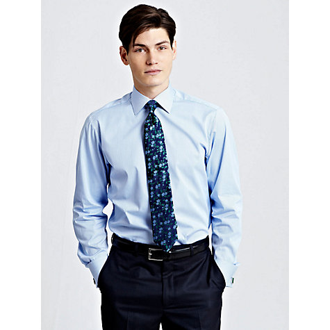 Buy Thomas Pink Slim Fit Elley Stripe Shirt Online at johnlewis.com