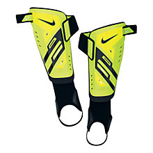 Buy Nike Protegga Shin Guards, Yellow/Black Online at johnlewis.com