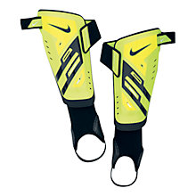 Buy Nike Youth Protegga Shin Guards, Yellow/Black Online at johnlewis.com