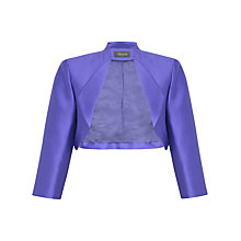 Buy Alexon Collar Bolero, Viola Online at johnlewis.com