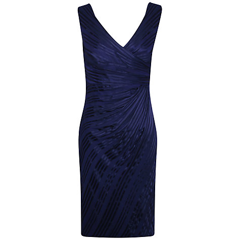 Buy Alexon Burnout Dress, Vista Blue Online at johnlewis.com