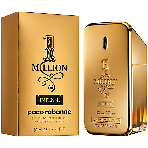 Buy Paco Rabanne 1 Million Intense Eau de Toilette Online at johnlewis.com