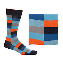 Buy Duchamp Coloured Block Bar Socks Online at johnlewis.com