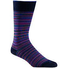 Buy Duchamp Platinum Stripe Socks Online at johnlewis.com