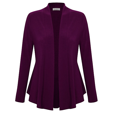 Buy Kaliko Jersey Cardigan, Bright Purple Online at johnlewis.com