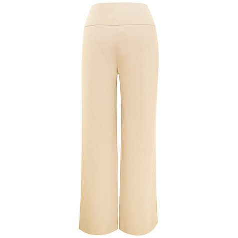Buy Kaliko Wide Leg Trousers, Ivory Online at johnlewis.com