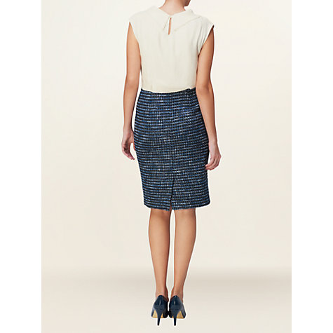 Buy Phase Eight Abby Tweed Mix Dress, Ink Online at johnlewis.com