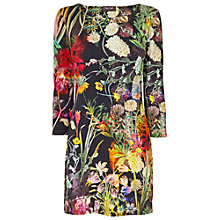 Buy Phase Eight Spriggy Digital Print Tunic, Black Multi Online at johnlewis.com