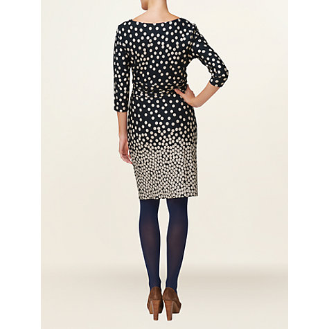 Buy Phase Eight Sam Wrap Dress, Navy/Stone Online at johnlewis.com