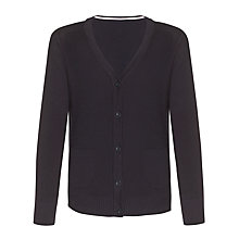 Buy John Lewis Junior Girls' School Cardigan Online at johnlewis.com