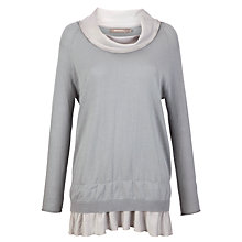 Buy Sandwich Tunic Trim Jumper, Dove Grey Online at johnlewis.com