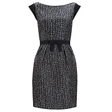 Buy Tara Jarmon Jacquard Bow Belt Dress Online at johnlewis.com