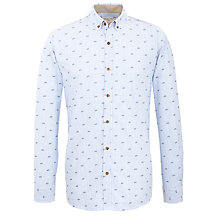 Buy Selected Homme Derby Print Shirt Online at johnlewis.com