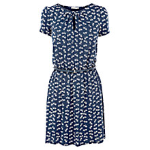 Buy Oasis Bicycle Print Dress, Blue Multi Online at johnlewis.com