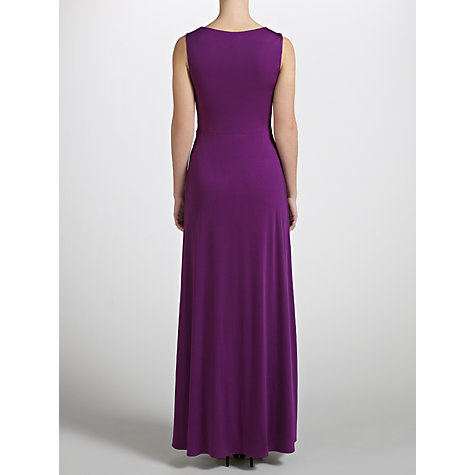 Buy John Lewis Joelle Ruched Panel Jersey Maxi Dress Online at johnlewis.com