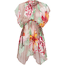 Buy Blue Mojito Amy Floral Kaftan Dress, Multi Online at johnlewis.com