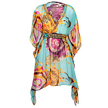 Buy Blue Mojito Lulu Printed Jewel Kaftan, Multi Online at johnlewis.com