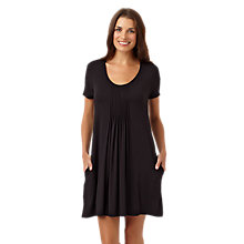 Buy DKNY Seven Easy Pieces Short Sleeve Sleepshirt, Black Online at johnlewis.com