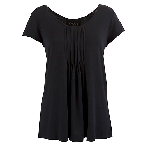 Buy DKNY Seven Easy Pieces Short Sleeve Pyjama Top Online at johnlewis.com