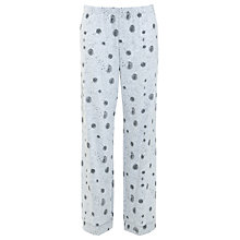 Buy John Lewis Dandelion Lounge Pyjama Bottoms, Grey Online at johnlewis.com