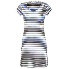 Buy John Lewis Dandelion Lounge Striped Nightdress, Grey/Blue Online at johnlewis.com