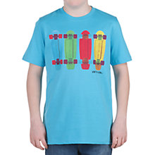 Buy Animal Hemlocky Skateboard T-Shirt, Blue Online at johnlewis.com