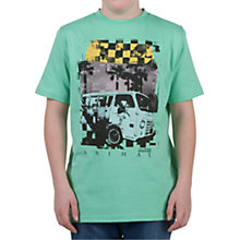 Buy Animal Hercula Van T-Shirt, Green Online at johnlewis.com