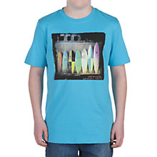 Buy Animal Hickory Surfboard T-Shirt, Blue Online at johnlewis.com