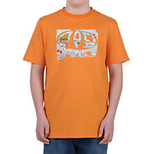 Buy Animal Hoptree T-Shirt, Orange Online at johnlewis.com