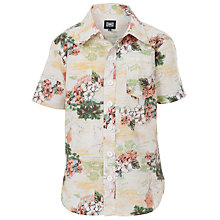 Buy Animal Plumero Short Sleeve Print Shirt, Multi Online at johnlewis.com