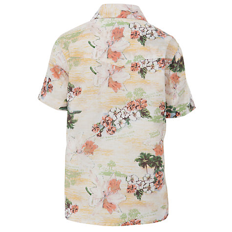 Buy Animal Boys' Plumero Short Sleeve Print Shirt, Multi Online at johnlewis.com